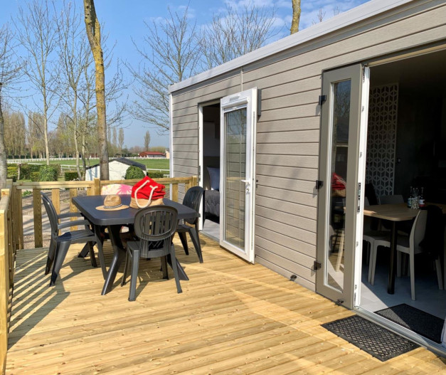 location mobil-home premium 2ch manche