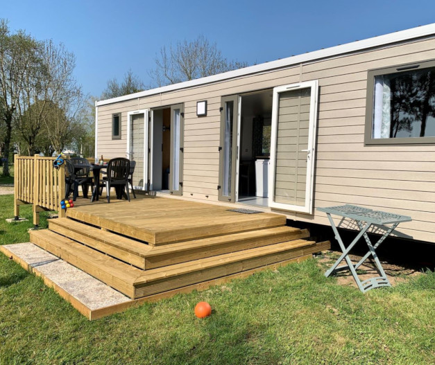 location mobil-home premium 3ch manche